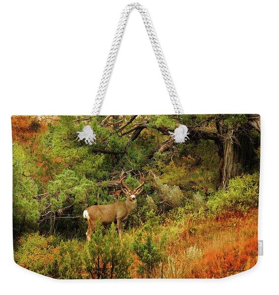 Roosevelt Deer Weekender Tote Bag