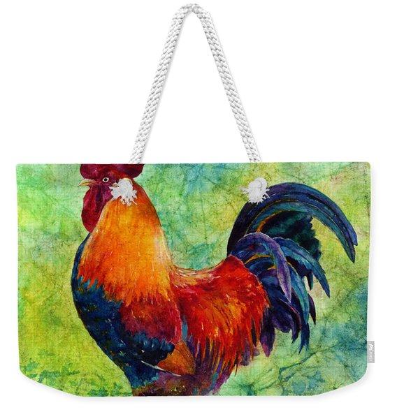 Rooster 2 Weekender Tote Bag