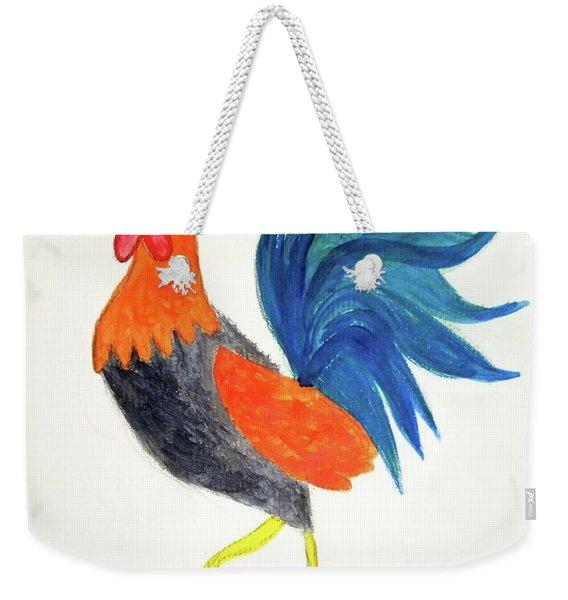 Rooster Awakens Us Weekender Tote Bag