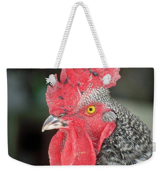 Rooster Named Brute Weekender Tote Bag