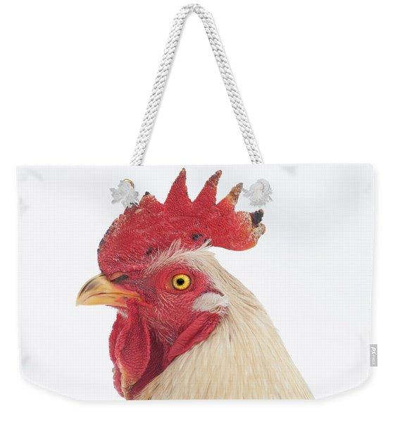 Rooster Named Spot Weekender Tote Bag