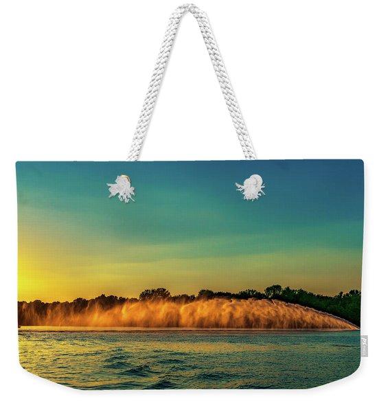 Rooster Tail Weekender Tote Bag