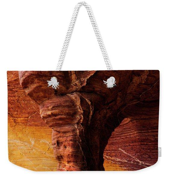 Tree Of Stone Weekender Tote Bag