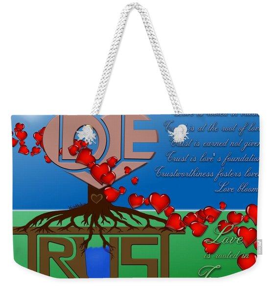 Rooted In Trust Weekender Tote Bag