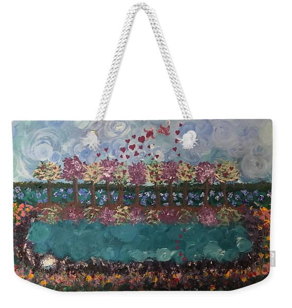 Roots And Wings Weekender Tote Bag