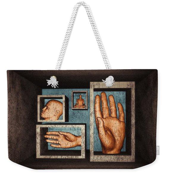 Roots Of Creativity Weekender Tote Bag