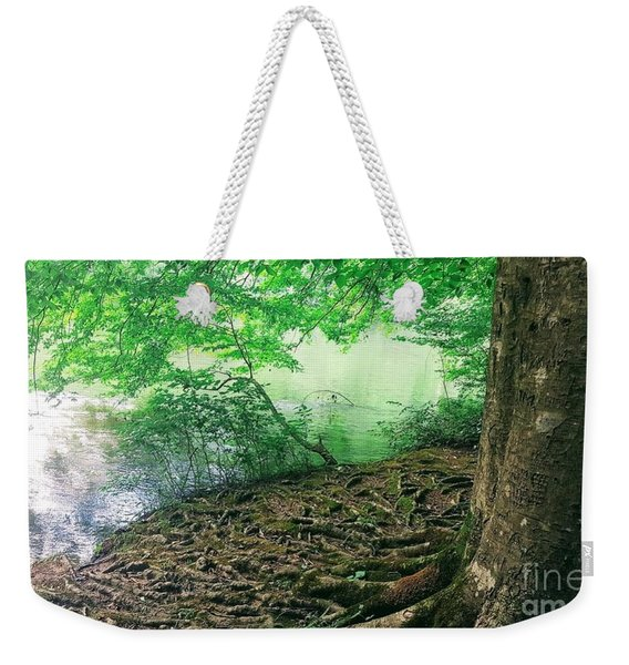 Roots On The River Weekender Tote Bag