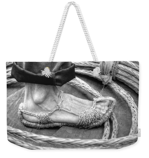 Rope Runner Weekender Tote Bag