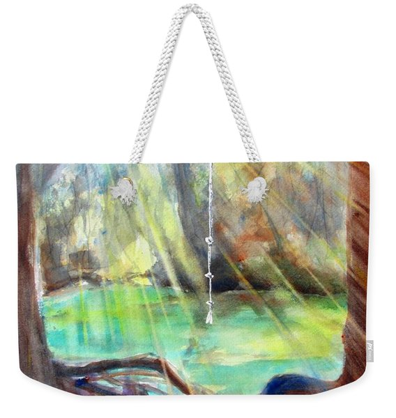 Rope Swing Weekender Tote Bag