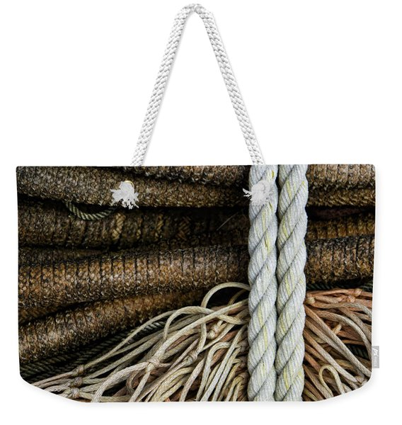 Ropes And Fishing Nets Weekender Tote Bag