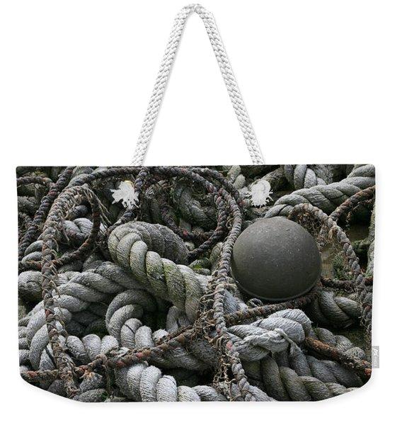 Ropes And Lines Weekender Tote Bag