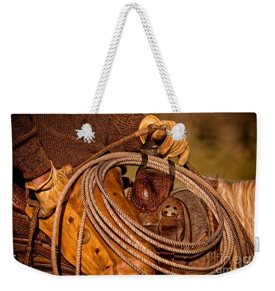 Roping Weekender Tote Bag