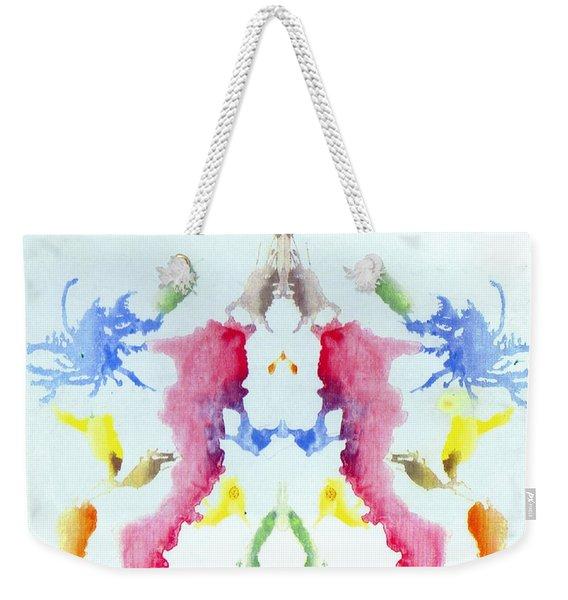 Rorschach Test Card No. 10 Weekender Tote Bag