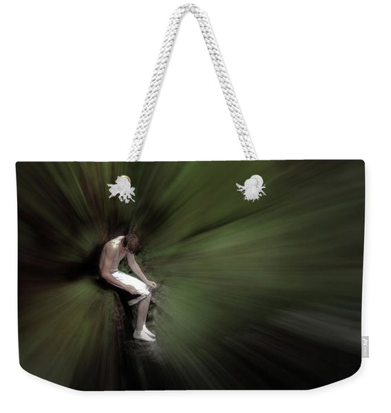 Weekender Tote Bag featuring the photograph Roscoe by Wayne King