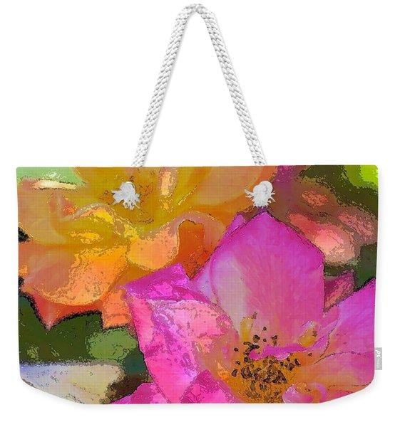 Rose 114 Weekender Tote Bag