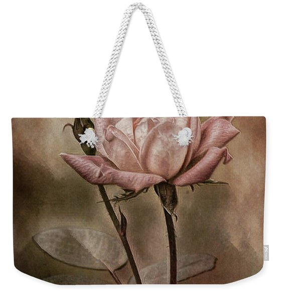 Rose 3 Weekender Tote Bag
