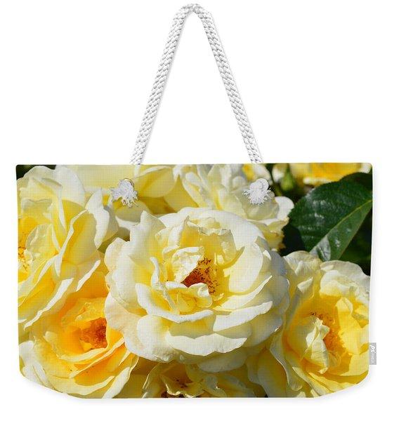 Rose Bush Weekender Tote Bag
