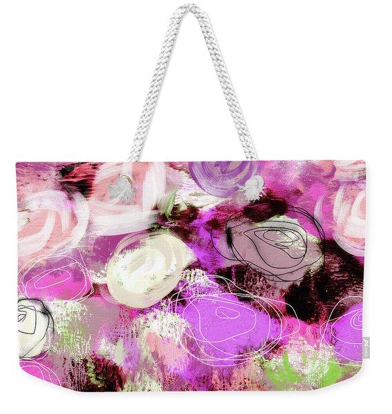Rose Garden Promise- Art By Linda Woods Weekender Tote Bag