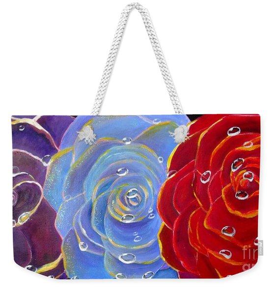 Rose Medley Weekender Tote Bag