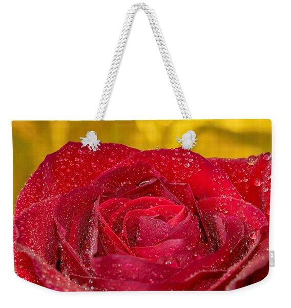 Rose N Gold Weekender Tote Bag