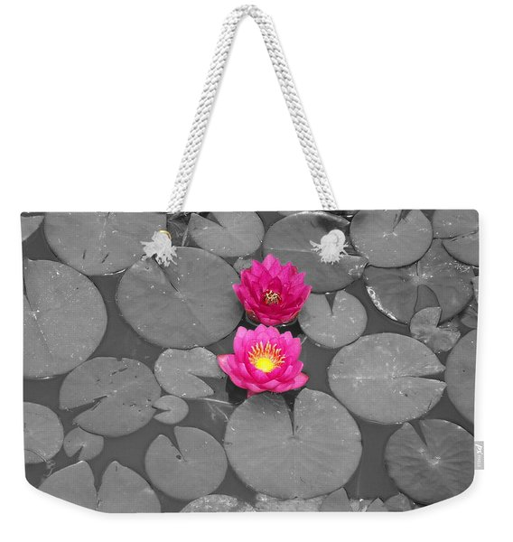 Rose Of The Water Weekender Tote Bag