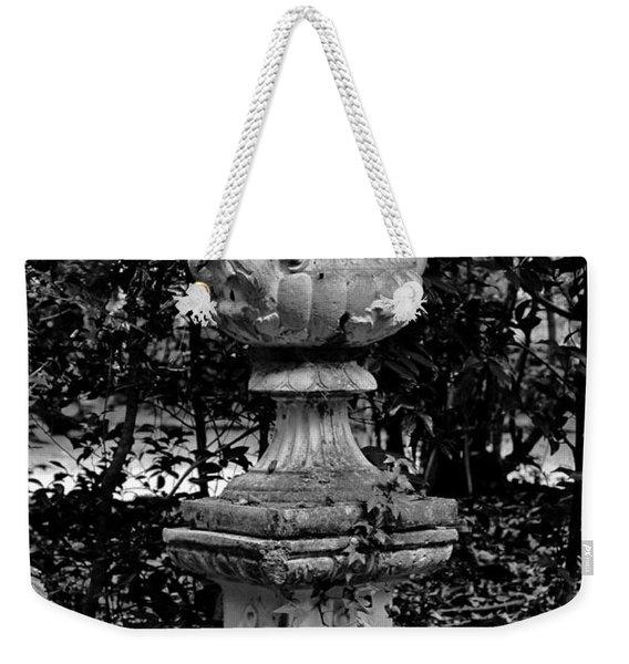 Rose Urn Weekender Tote Bag