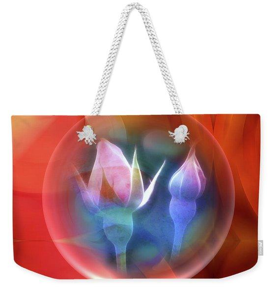 Rosebowl Weekender Tote Bag