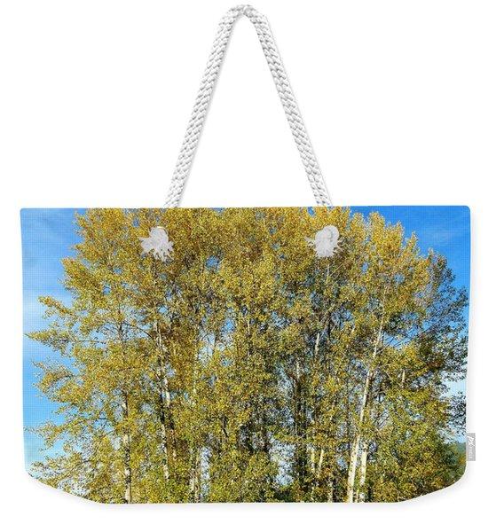 Rosehips And Cottonwoods Weekender Tote Bag