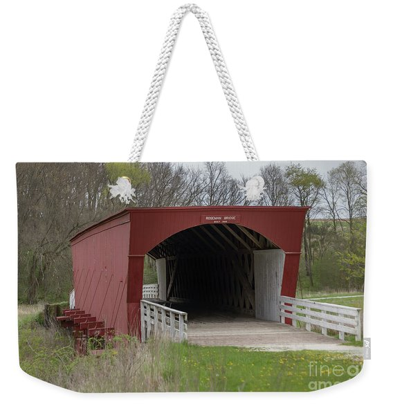 Roseman Covered Bridge - Madison County - Iowa Weekender Tote Bag