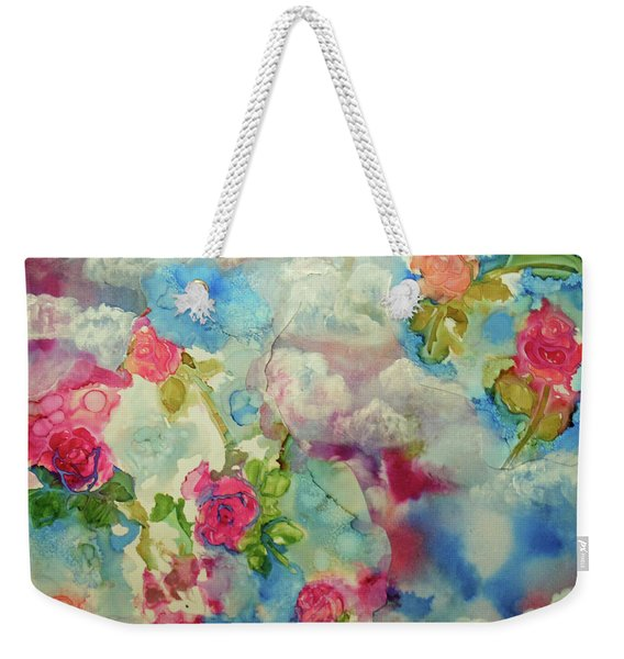 Roses Among The Clouds Weekender Tote Bag