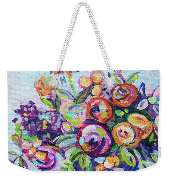 Roses And Kumquats Weekender Tote Bag
