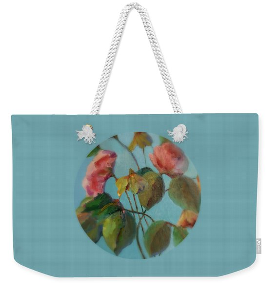 Roses And Wildflowers Weekender Tote Bag