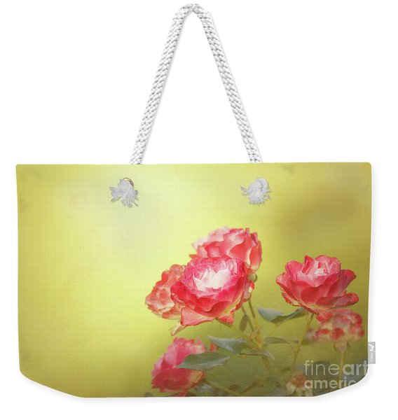 Roses From The Garden Weekender Tote Bag