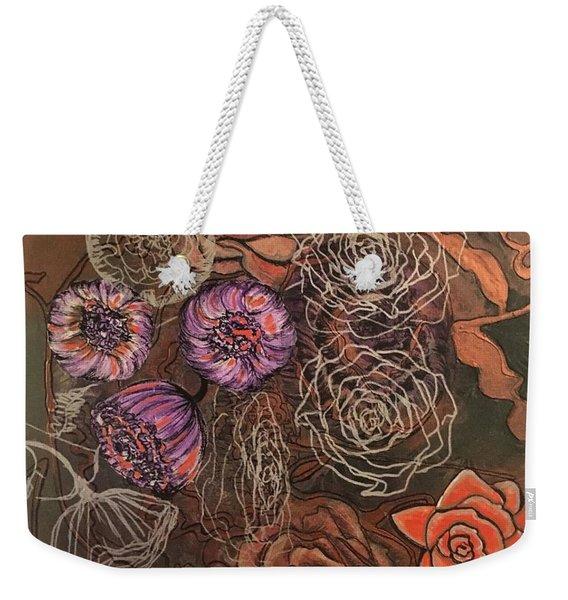 Roses In Time Weekender Tote Bag