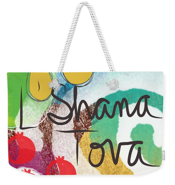 Rosh Hashanah Sampler- Art By Linda Woods Weekender Tote Bag