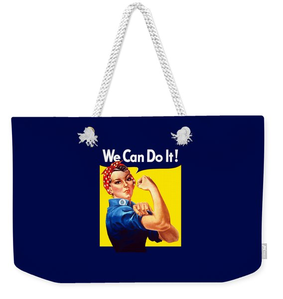 Rosie The Rivetor Weekender Tote Bag