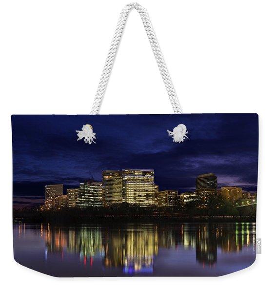 Rosslyn Skyline Weekender Tote Bag