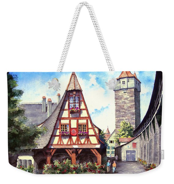 Rothenburg Memories Weekender Tote Bag
