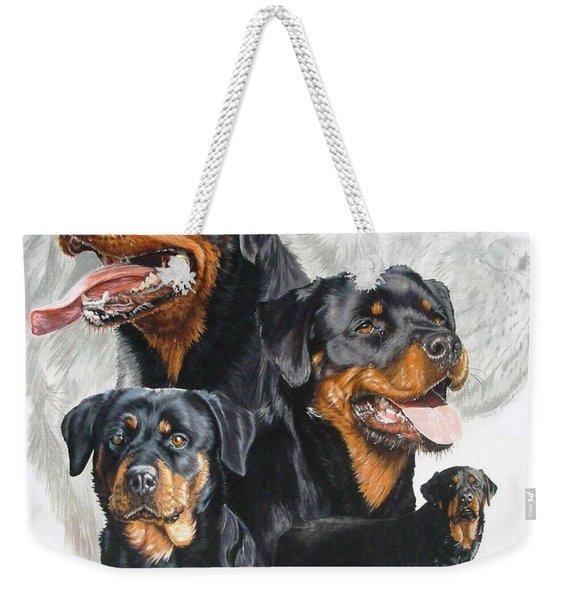 Rottweiler Medley Weekender Tote Bag