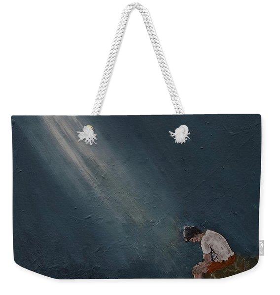 Rough Day Weekender Tote Bag