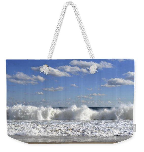 Rough Surf Jersey Shore  Weekender Tote Bag