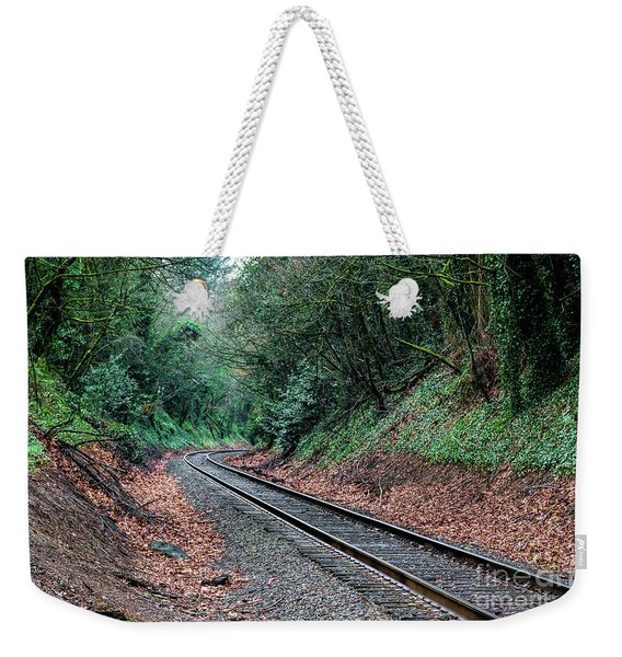 Round The Bend Weekender Tote Bag