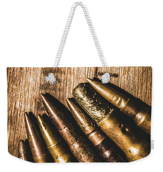 Rounds Of Historic Battle Weekender Tote Bag