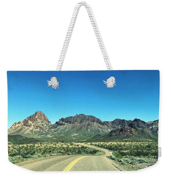 Route 66 Weekender Tote Bag