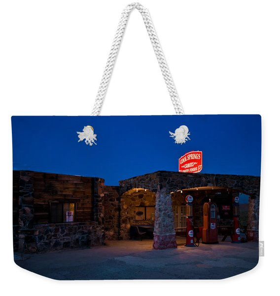 Route 66 Outpost Arizona Weekender Tote Bag