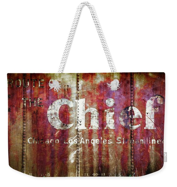 Route Of The Chief Weekender Tote Bag