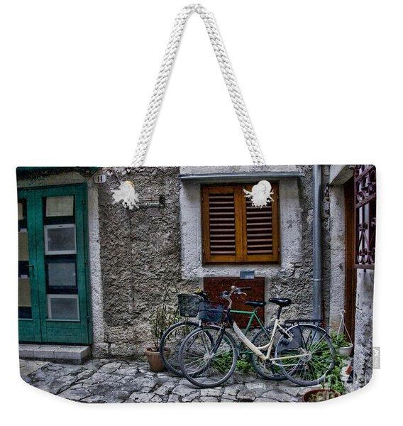 Rovinj Bicycles Weekender Tote Bag