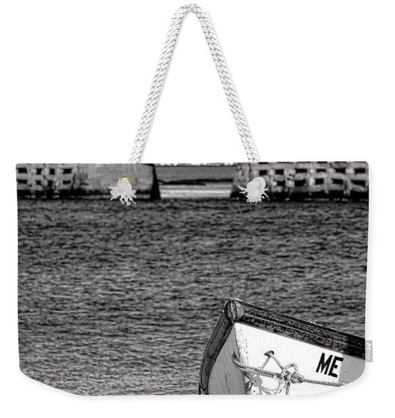 Row Boat And Cribstone Bridge Weekender Tote Bag