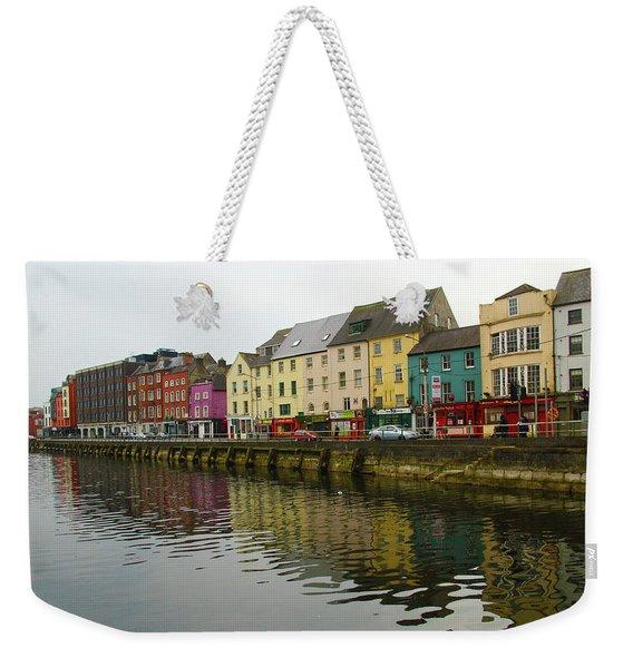 Row Homes On The River Lee, Cork, Ireland Weekender Tote Bag