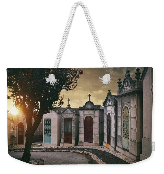 Row Of Crypts Weekender Tote Bag